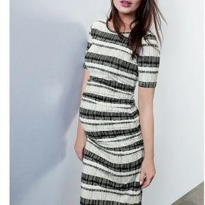 Isabella Oliver Kerwood Maternity Print Midi Dress
